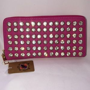 Wallet/Wristlet - Pink with Bling